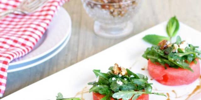 This is a simple salad to make, but the flavors and textures are complex and delicious.