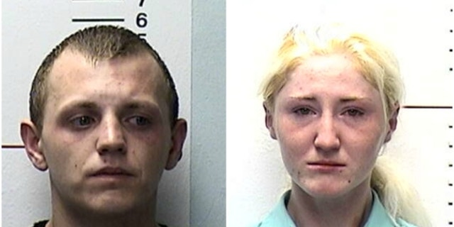 Lee Johnson and Chelsie Marshall were saved by their son after a heroin overdose, police said.