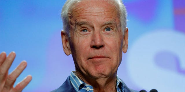 FILE: Former Vice President Biden said Republicans talked to him about their opposition to Merrick Garland.
