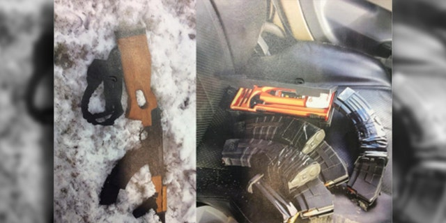 """Authorities recovered an AK-47 assault rifle and more than 200 round of ammunition from the truck, Bouchard said, and stated the incident was """"clearly a planned killing spree."""""""
