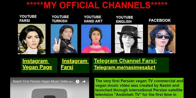 Nasim Aghdam voiced her hate for YouTube on her website.
