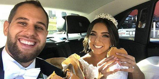 Nancy and Andrew reportedly enjoyed cheeseburgers prior to the wedding, as well.
