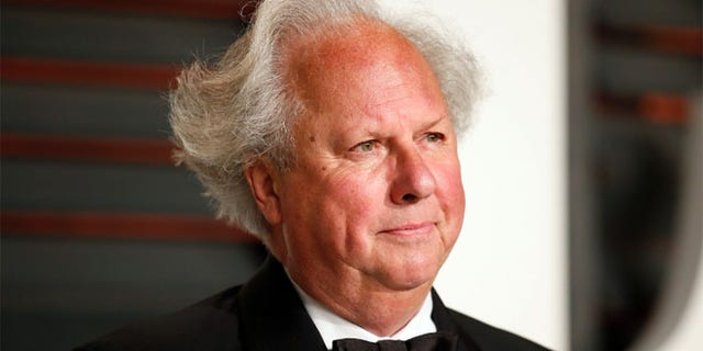 Editor and Chief of Vanity Fair Graydon Carter arrives at the 2015 Vanity Fair Oscar Party in Beverly Hills.