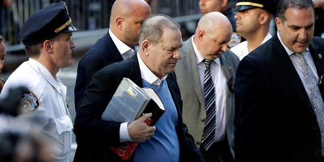 Harvey Weinstein turned himself over to police on May 25 and was charged with rape, criminal sex acts, sex abuse and sexual misconduct on two separate women.