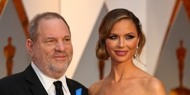 """Alyssa Milano and Harvey Weinstein (left) wife Georgina Champman (right) starred on """"Project Runway: All Stars"""" together."""