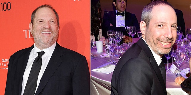 It was Oppenheim, (r.), who reportedly nixed a blockbuster expose on Harvey Weinstein, (l.), by Ronan Farrow