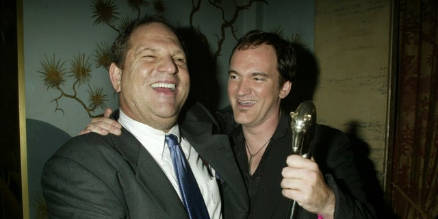"Harvey Weinstein and Quentino Tarantino worked together on ""Pulp Fiction"" and ""Kill Bill: Volume 1."""
