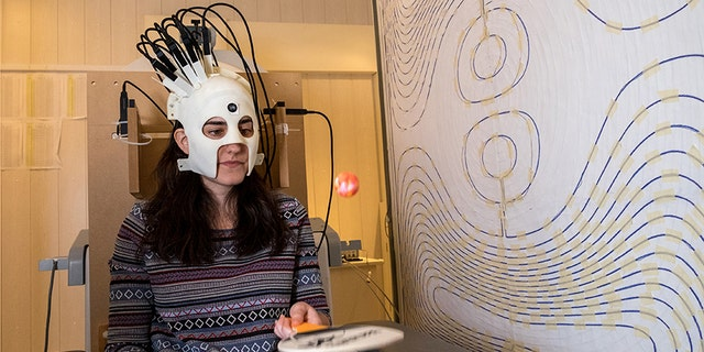 British scientists have developed a lightweight and highly sensitive brain imaging device that can be worn as a helmet, allowing the patient to move about naturally.