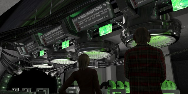 Will you become Bruce Banner after walking through the new lab?