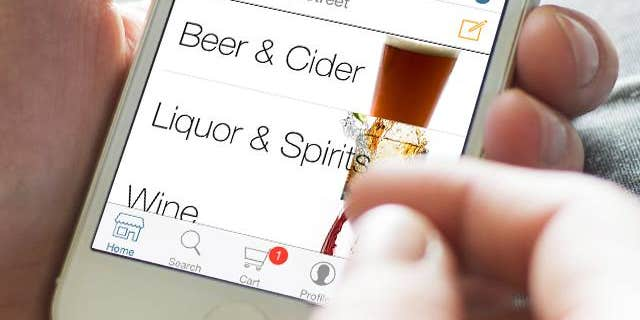 Beer, wine and spirits delivered right to your door.