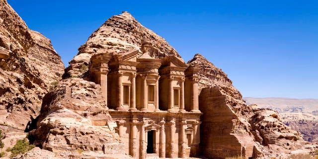 The Monastery in ancient city of Petra, Jordan