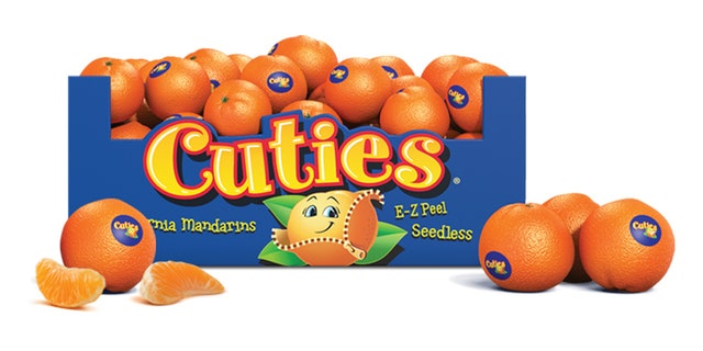 Cuties Clementines are seedless and easy to peel.