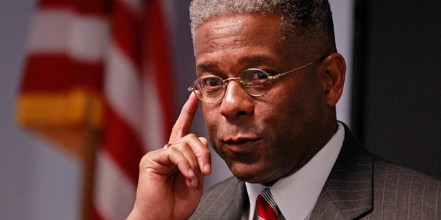 Then-U.S. Rep. Allen West, R-Fla., is seen in Boca Raton, Fla., Oct. 18, 2012. (Reuters)