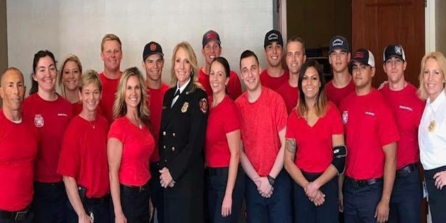 Phoenix Fire Chief Kara Kalkbrenner has 75 women in the fire department, including Captain Riddle-Bigler, who's in line to become a battalion chief