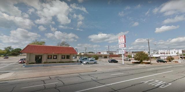 Whataburger in Denison, Texas.