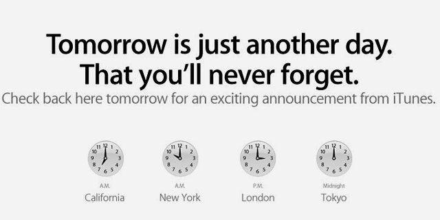 An unsubtle transformation to the Apple.com website indicates the company plans a big announcement for Tuesday.