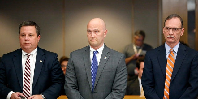 Roy Oliver was convicted of murder on Tuesday for fatally shooting an unarmed black teenager when he fired into a car full of teenagers leaving a house party in suburban Dallas.