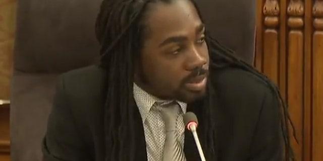 Washington D.C. city council member Trayon White.