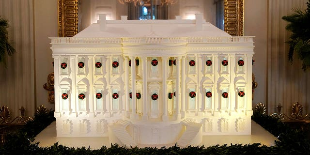 The White House's gingerbread likeness wasn't the only over-the-top confection to debut before Christmas.