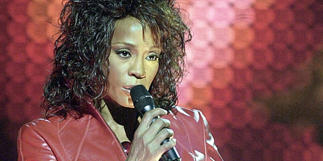 Whitney Houston in 2002.