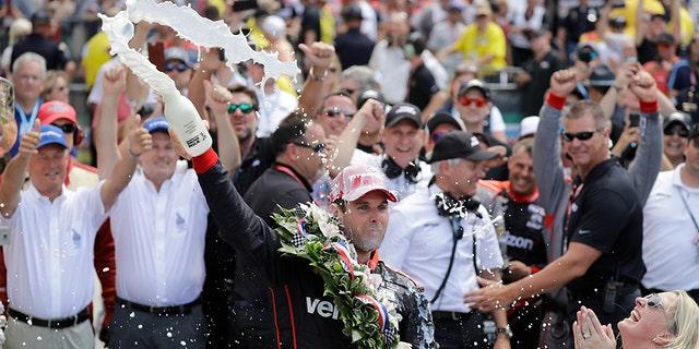 Australian driver Will Power won Sunday's Indianapolis 500.
