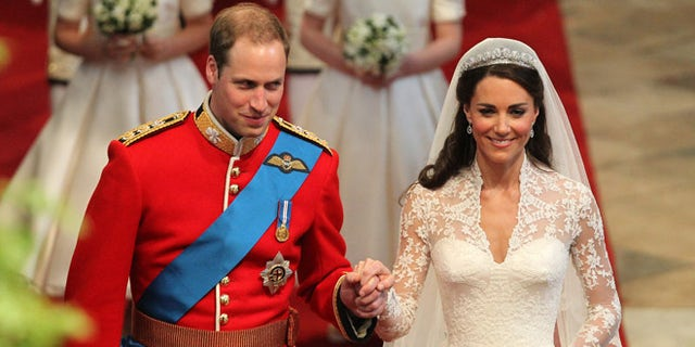 Prince William and the Duchess of Cambridge tied in the knot in 2011.