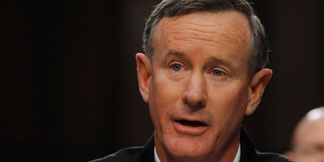 William McRaven retired from the Navy in 2014 after a 37-year career.