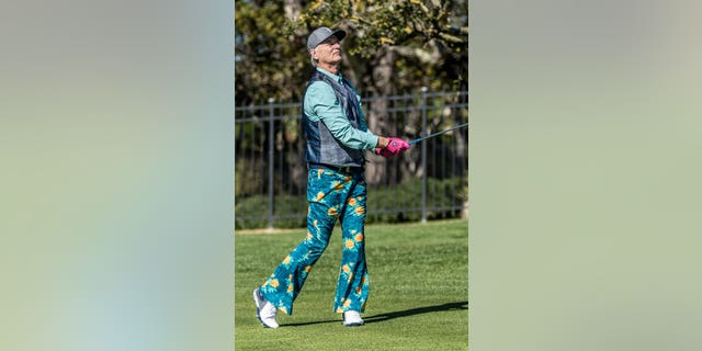 "Bill Murray wore a pair of ""Bill-Bottoms"" to a charity tournament on Wednesday."
