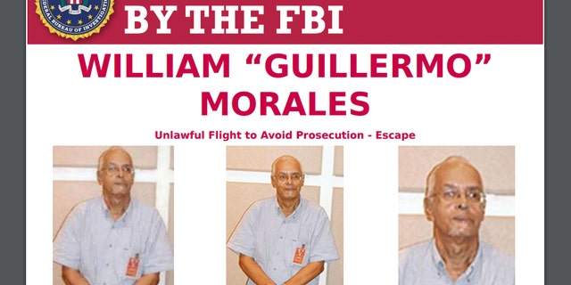 FBI Most Wanted poster of Willie Morales, a Puerto Rican terrorist group bomb maker who fled to Cuba.