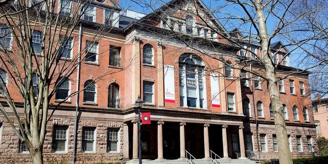 Winants Hall at Rutgers University in New Brunswick, N.J.