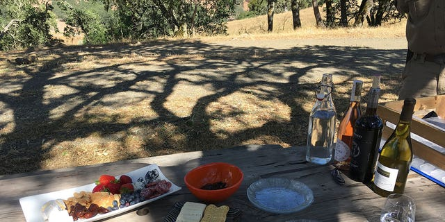 You likely won't be foraging for food on a glamping trip.