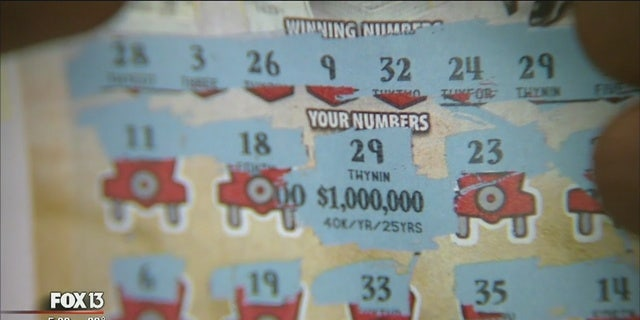 Antoinette Andrews' new winning ticket in Florida.