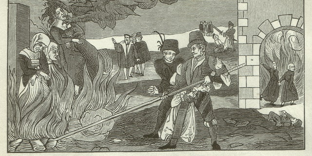 Witch-burning in the County of Regenstein, 1550 - illustration (iStock)