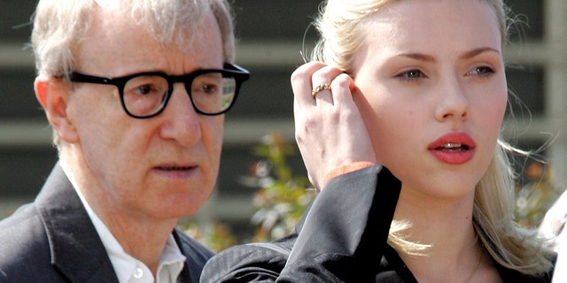 Woody Allen, pictured here with actress Scarlett Johansson in 2005, has been accused of having a fixation on girls and young women.