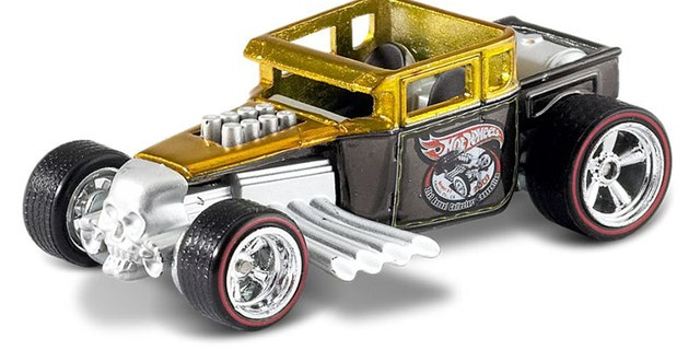 Wood's Bone Shaker would fit right in at a rat rod cruise night today.