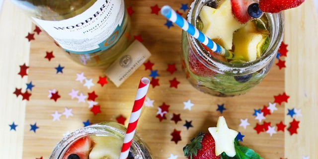 Enjoy this fruity sangria at your next summer party.