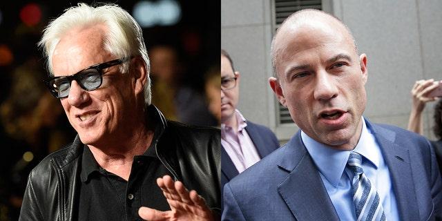 Stormy Daniels' lawyer Michael Avenatti threatened James Woods with litigation on Twitter.