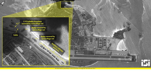 "ISI analysts believe the satellite images provide further evidence that China is increasingly ""militarizing"" its islands in the South China Sea, ramping up tensions in the region that might undermine its strategic stability."