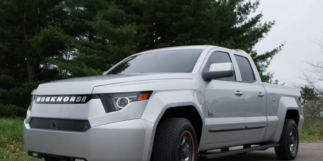 Workhorse already has 5,000 orders for the plug-in hybrid W-15.