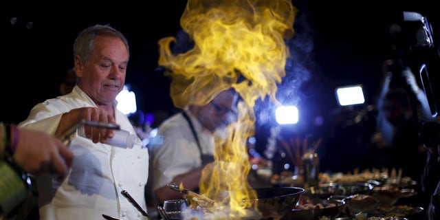 Wolfgang Puck is one of the most famous chefs in the world.