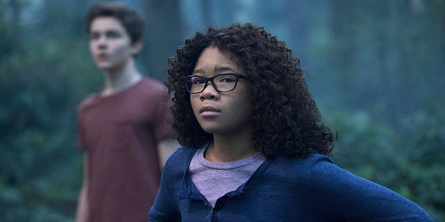 """Australian actor Levi Miller was selected to play Meg's friend """"because that was so powerful, to show a white boy following a black girl"""" throughout the movie, according to Ava DuVernay."""