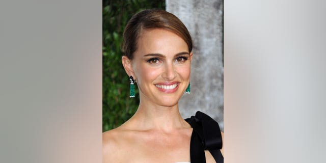 FILE - In this Feb. 24, 2013 file photo, actress Natalie Portman arrives at the 2013 Vanity Fair Oscars Viewing and After Party in West Hollywood, Calif. Israeli film officials say Portman will direct her first feature film, based on an autobiographical novel by celebrated Israeli writer Amos Oz. Portman is to arrive in October in Israel to cast local actors. The movie will be filmed in Jerusalem in early 2014. (Photo by Jordan Strauss/Invision/AP, File)