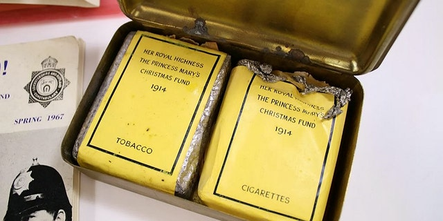The lot also contains some cigarettes given to Bullimore, of which he only smoked three.