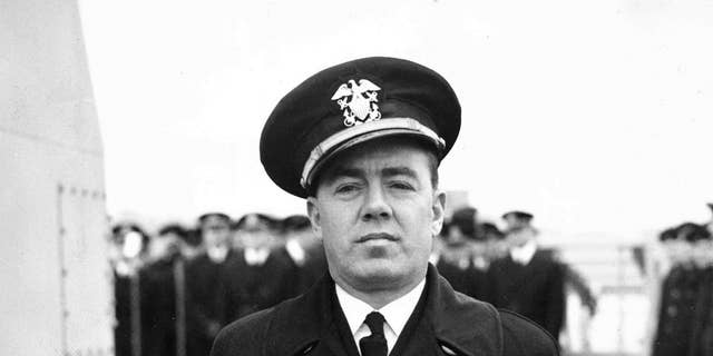 Commander Henry S. Wygant Jr. was captain of the USS Turner when it exploded and sank at the entrance to New York Harbor in January 1944.