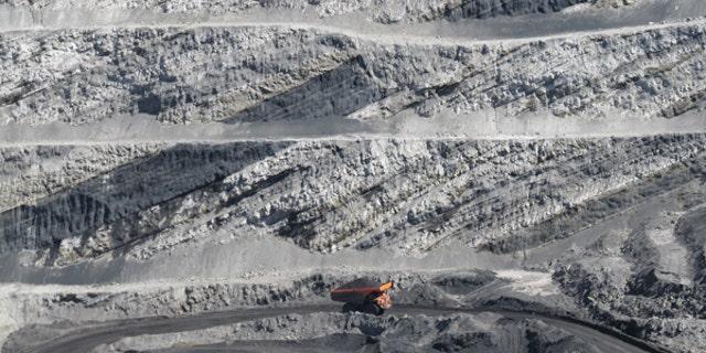 A mine in the Powder River Basin