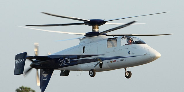Sirkorsky's X2 prototype is now the fastest helicopter in the world.