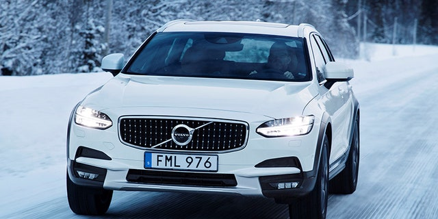 The V90 Cross Country has 8.3 inches of ground clearance