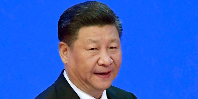 China's President Xi Jinping is seen in this photo from April 10, 2018.