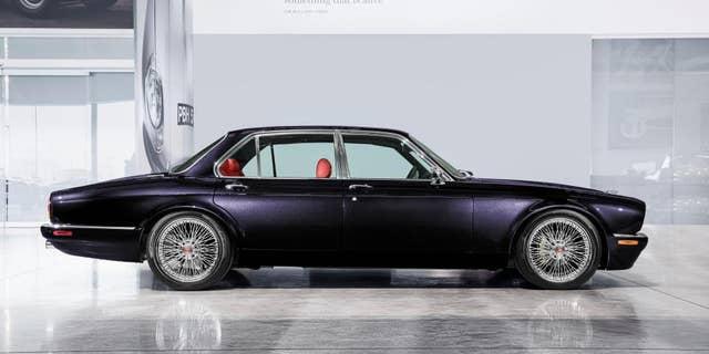 Nicko McBrain's reimagined Jaguar XJ6 took 3,500 man hours to complete.