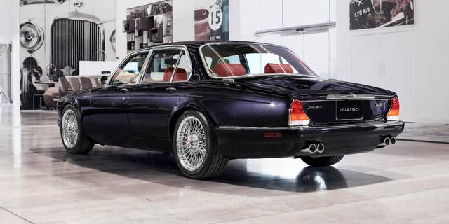 Jaguar Classic Works restores classics and builds special cars for its top customers.